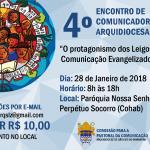 4º Encontro de Comunicadores Arquidiocesano – ECA
