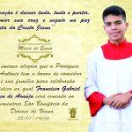 Missa de Envio do jovem Francisco Gabriel