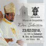 Missa Solene de Despedida de Dom Sebastião em Viana