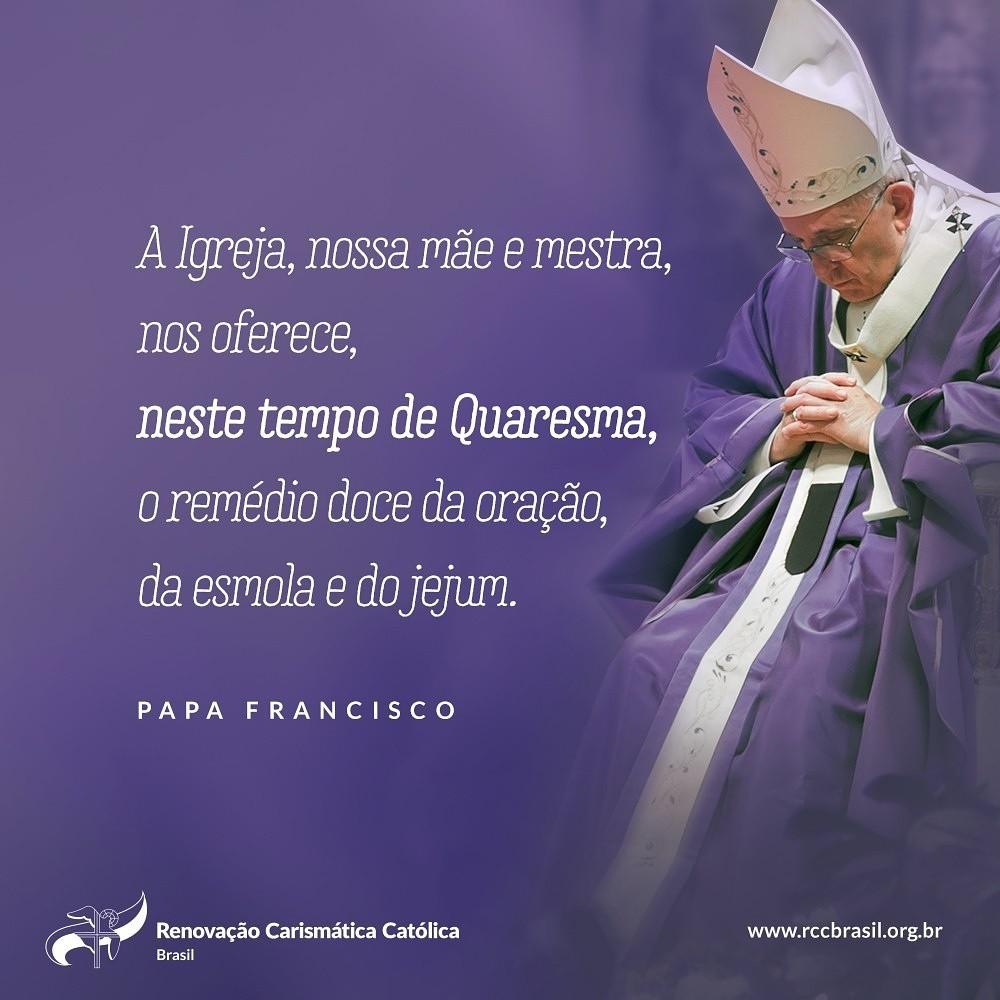 Mensagem do Papa para a Quaresma 2018