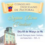 Carta de convocação para reunião do Conselho Diocesano de Pastoral
