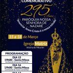 Tríduo de 295 anos da Paróquia Nossa Senhora  de Nazaré de Vitória do Mearim