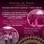 Domingo de Ramos – São Pedro Apóstolo