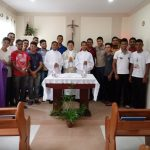 Encerramento do Retiro dos seminaristas