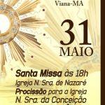 Missa de Corpus Christi – Igreja Nra. de Nazaré