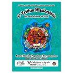 PROGRAMAÇÃO DO I TRÍDUO MISSIONÁRIO DA PARÓQUIA SANTA RITA DE CÁSSIA DE BURITICUPU