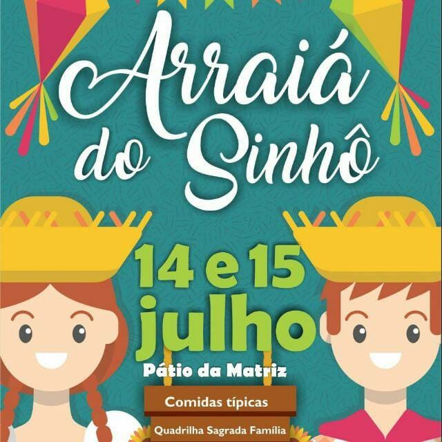 Participe do Arraiá do Sinhô