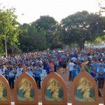 Foi Realizado a IV Romaria do Terço dos Homens na cidade de Buriticupu Diocese de Viana