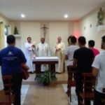 Santa Missa, presidida por Dom Sebastião no Seminário São Bonifácio