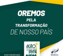 Ação conjunta de oração pelo Brasil