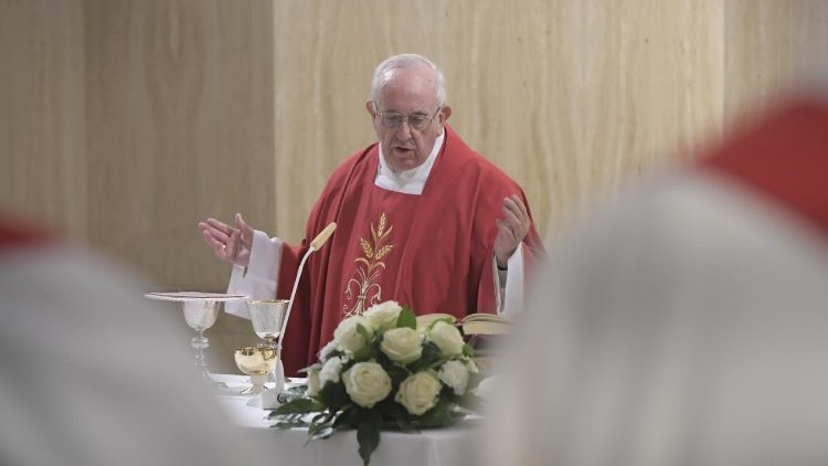 Papa: diabo usa os hipócritas, Jesus ensina o amor verdadeiro