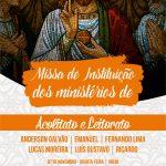 Missa de instituição dos ministérios do Acolitato e Leitorato