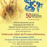 Celebração Jubilar da presença Dehoniana
