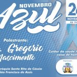 Palestra sobre NOVEMBRO AZUL! Venha e participe conosco!