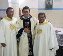 PÁROCO DA PARÓQUIA SANTA INÊS PRESIDE MISSA DO NOVENÁRIO DA PADROEIRA DA DIOCESE