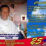 25 anos de Sacerdócio do Monsenhor Assis, dia 13 às 19h. Venha comemorar conosco!
