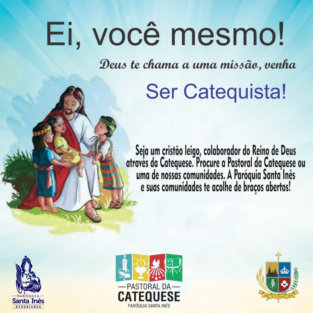Venha ser um Catequista!