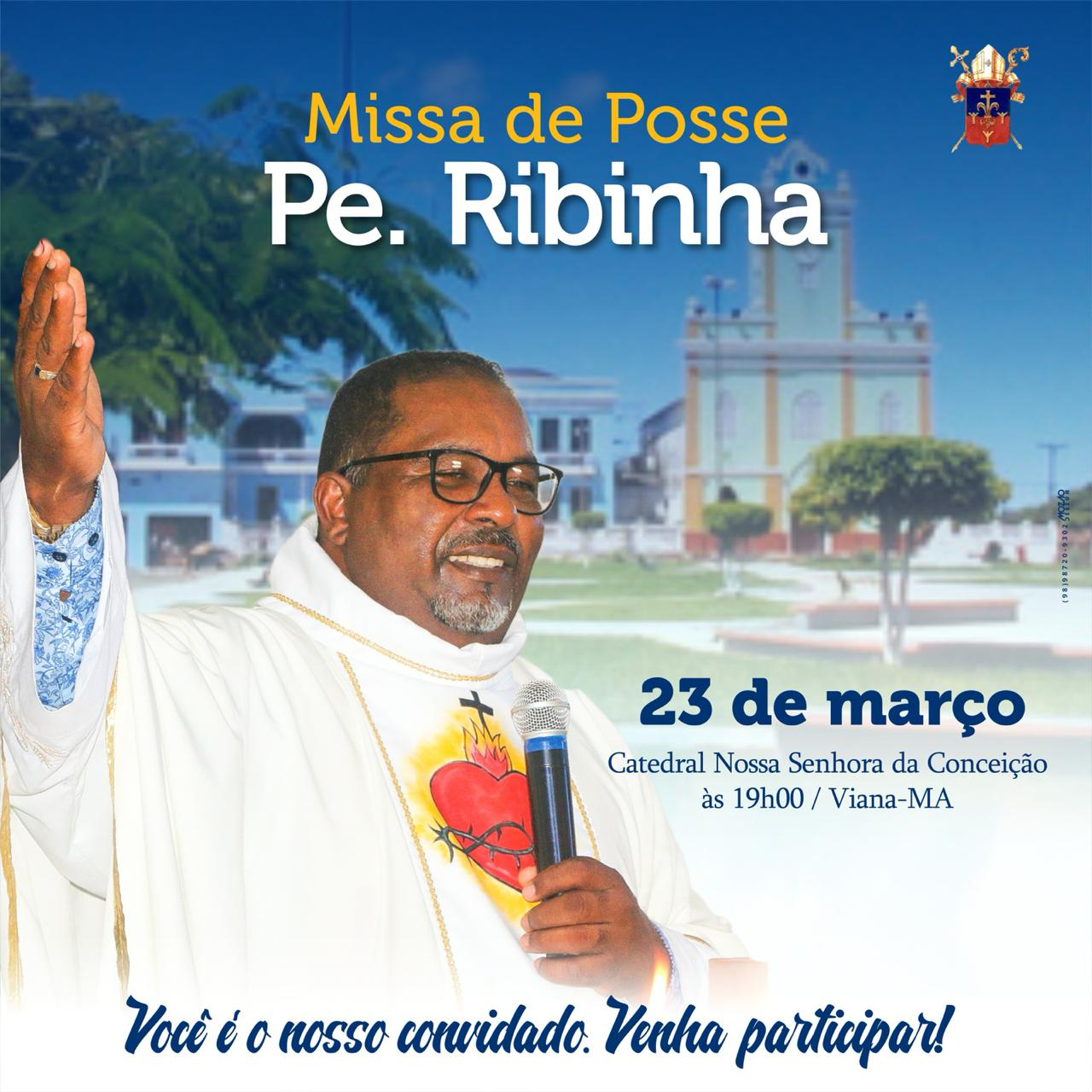 Posse do novo pároco da Catedral de Nossa Senhora da Conceição