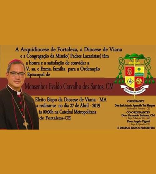 Ordenação Episcopal Monsenhor Evaldo Carvalho dos Santos