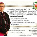 Ordenação Episcopal de Dom Evaldo de Carvalho
