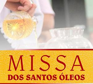Missa dos Santos Óleos - 11 de Abril - Catedral Viana