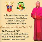 Missa de posse e acolhida do Bispo Dom Evaldo Carvalho dos Santos CM