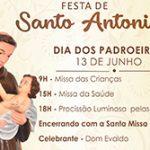 Bênção dos Pães – Santa Missa em honra a Santo Antônio de Pádua