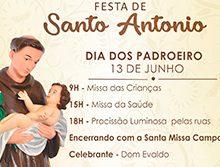 Bênção dos Pães - Santa Missa em honra a Santo Antônio de Pádua