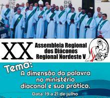 XX Assembleia Regional dos Diáconos Regional Nordeste V