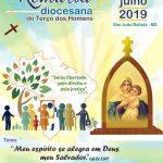 Programação da V Romaria Diocesana do Terço dos Homens