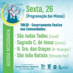 Programação Agenda Missionária
