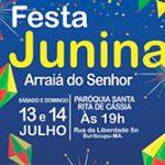 Festa Junina arraiá do Senhor