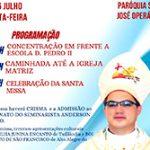 Visita Pastoral do Bispo Diocesano Dom Evaldo em Tufilândia