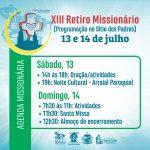 XIII Retiro missionário das SMP
