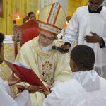 Anderson da Silva Galvão é ordenado diácono, em Buriticupu, para o serviço da Igreja e do povo de Deus