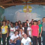 Fazenda do Amor Misericordioso realiza palestra de prevenção contra as drogas em parceria com a equipe do Proerd