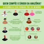 Quem compõe o Sínodo da Amazônia?