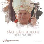 São João Paulo II rogai por nós!