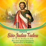 Iniciam os festejos a São Judas Tadeu, em Santa Inês