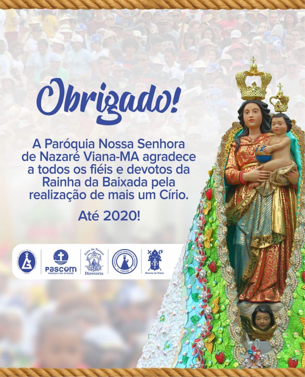 CÍRIO de Nazaré em Viana 2019