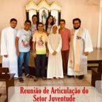 Diocese de Viana realizou reunião de articulação do setor Diocesano da Juventude