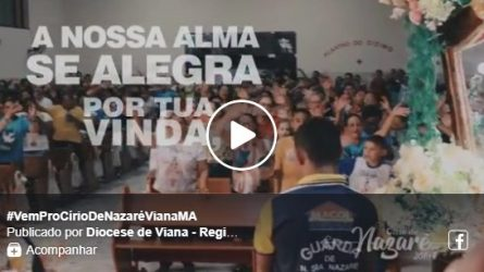 #VemProCírioDeNazaréVianaMA