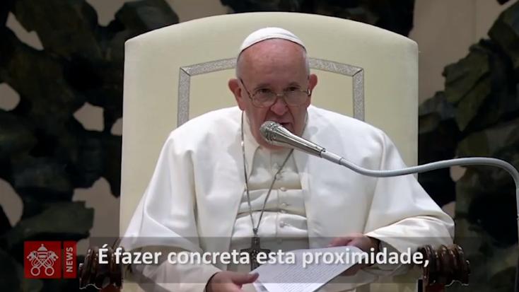 Audiência: fazer o presépio é convidar Jesus a entrar na nossa vida