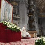 Papa na Festa de Guadalupe: Maria é mãe e é mestiça
