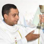Em nosso coração gratidão ao pároco Padre Nelcino Leocádio Silva Rodrigues