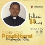 Ordenação presbiteral Diac. Joaquim Alves