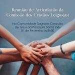Reunião da Comissão dos Cristãos Leigos