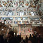 500 anos após a morte de Rafael, suas tapeçarias são exibidas novamente na Capela Sistina