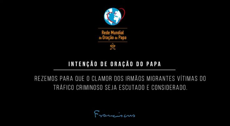 Em fevereiro, reze com o Papa pelas vítimas do tráfico humano