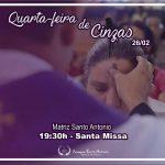 Missa de Cinzas – Paróquia Santo Antonio